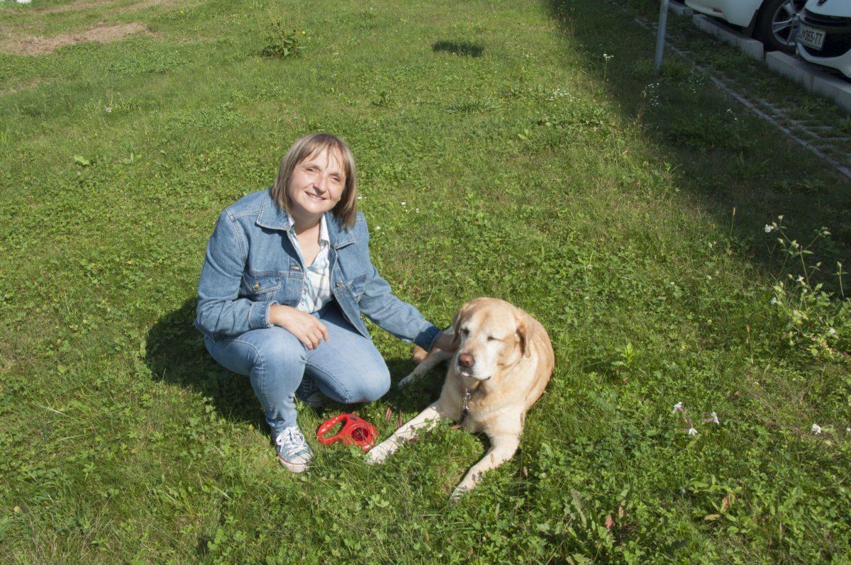 Pogovor: Sabina Dermota, uporabnica psa vodnika