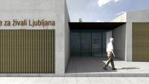 Prva faza novega zavetišča za zapuščene živali Ljubljana končana letošnje poletje