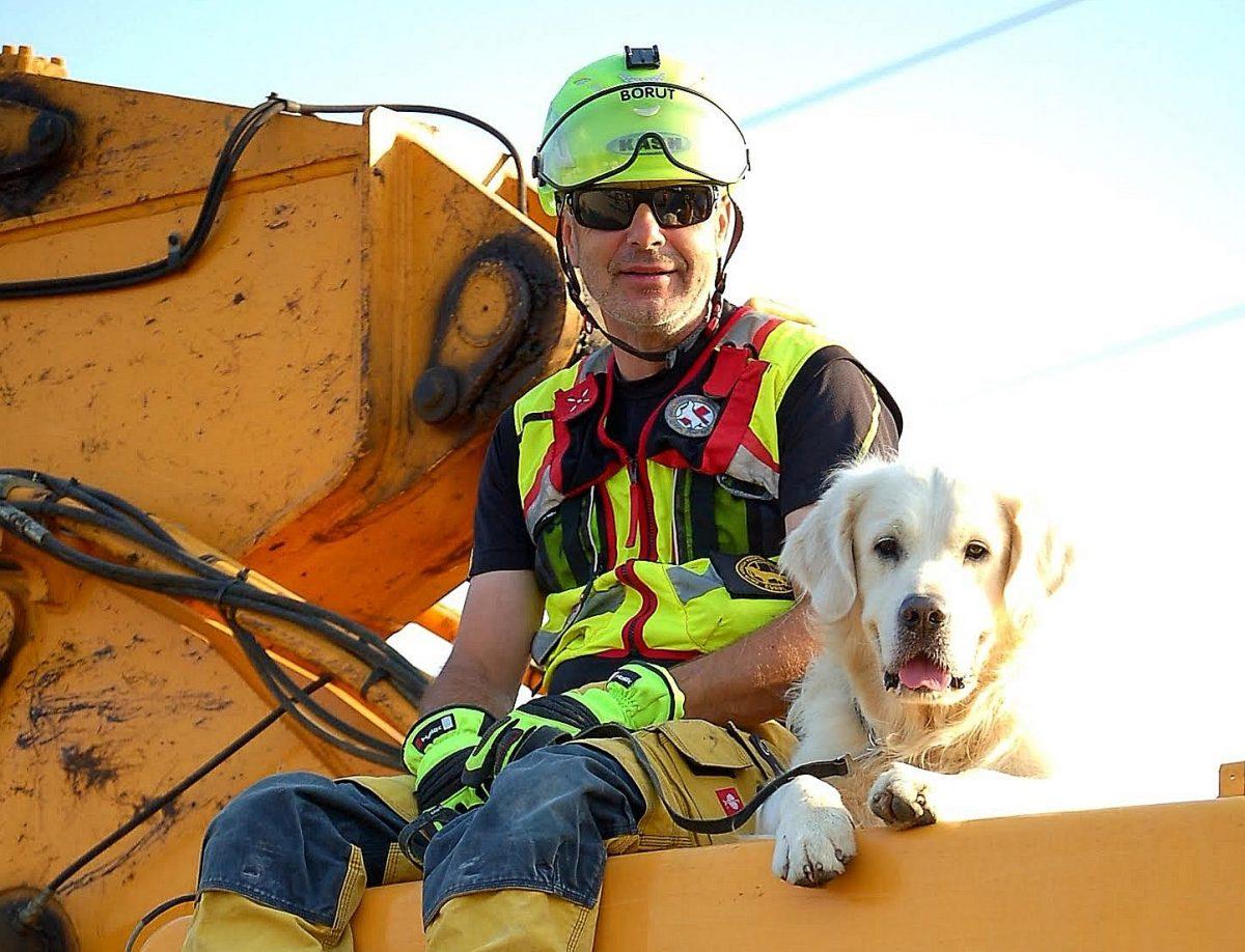 Pogovor: Borut Modic, vodnik reševalnega psa