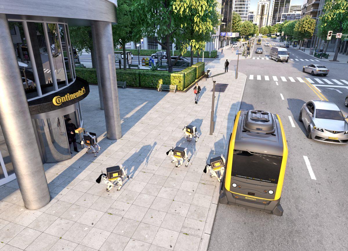 Psi roboti bodo dostavljali pošiljke