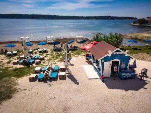 Nov nivo pasjih plaž na hrvaški obali