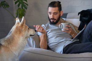 Se je smiselno pogovarjati s psom?