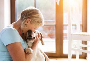 Posvojila psa in ugotovila, da je to psička, ki jo je v otroštvu izgubila