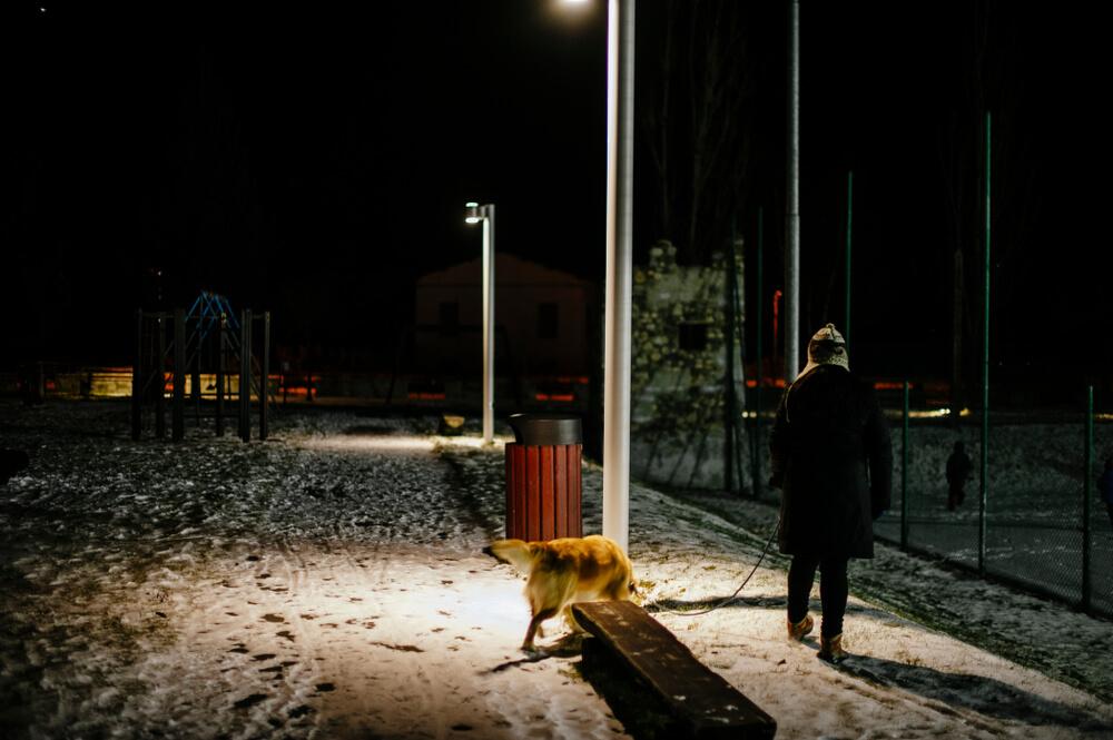 Govoreče ulične svetilke na Irskem opozarjajo na pobiranje pasjih kakcev