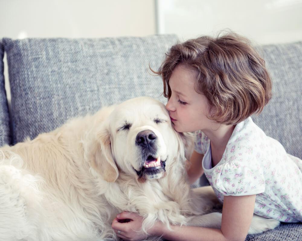Bolehna deklica si s prijateljico dopisuje kar prek svojega kužka
