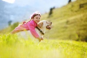 Kdaj prekiniti interakcijo med otrokom in psom?