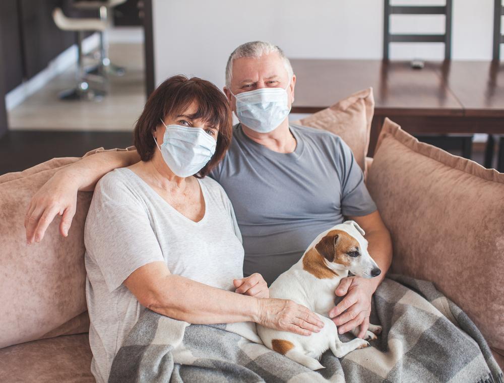 Pasji skrbniki imajo več možnosti za okužbo s koronavirusom – pravi raziskava