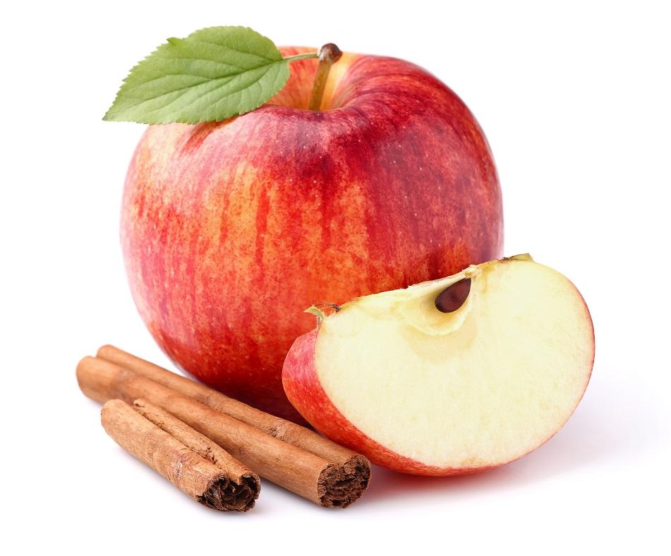 Recept: Jabolčne kocke s cimetom