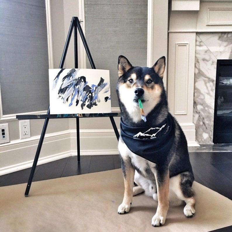 Pasji slikar Hunter po svetu prodal več kot 250 svojih slik